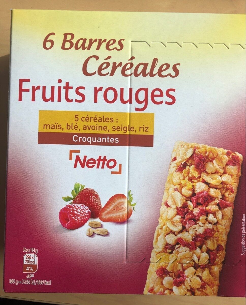 Fruits rouges Netto - Product - fr