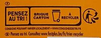 Velouté potiron - Recycling instructions and/or packaging information - fr