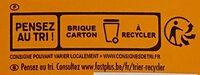 Velouté potiron - Istruzioni per il riciclaggio e/o informazioni sull'imballaggio - fr
