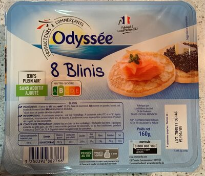 Blinis - Product - fr