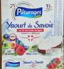 Yaourt de savoie - Produit