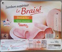 Jambon supérieur Le braisé - Produkt - fr
