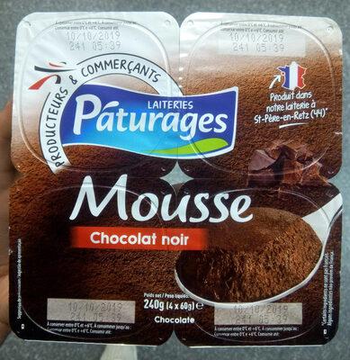 Pâturages Mousse Chocolat Noir - Product