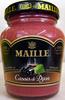 Moutarde au vin blanc à la crème de cassis de Dijon Maille - Product