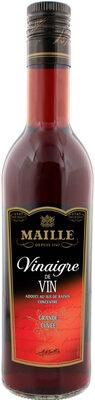 Maille Vinaigre de Vin Rouge adouci au jus de raisin concentré 50cl - Product - fr
