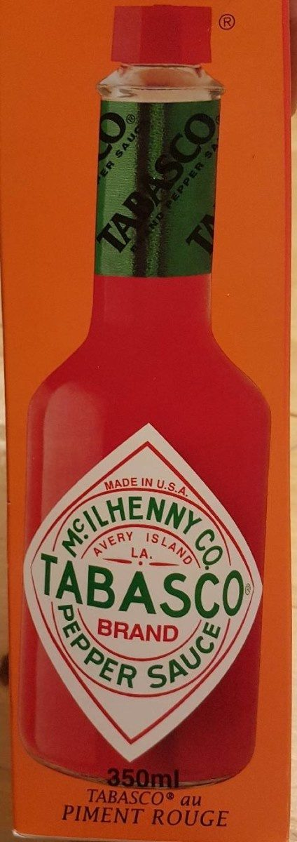 350ML Sauce Pimentee Tabascao Rouge - Product - fr