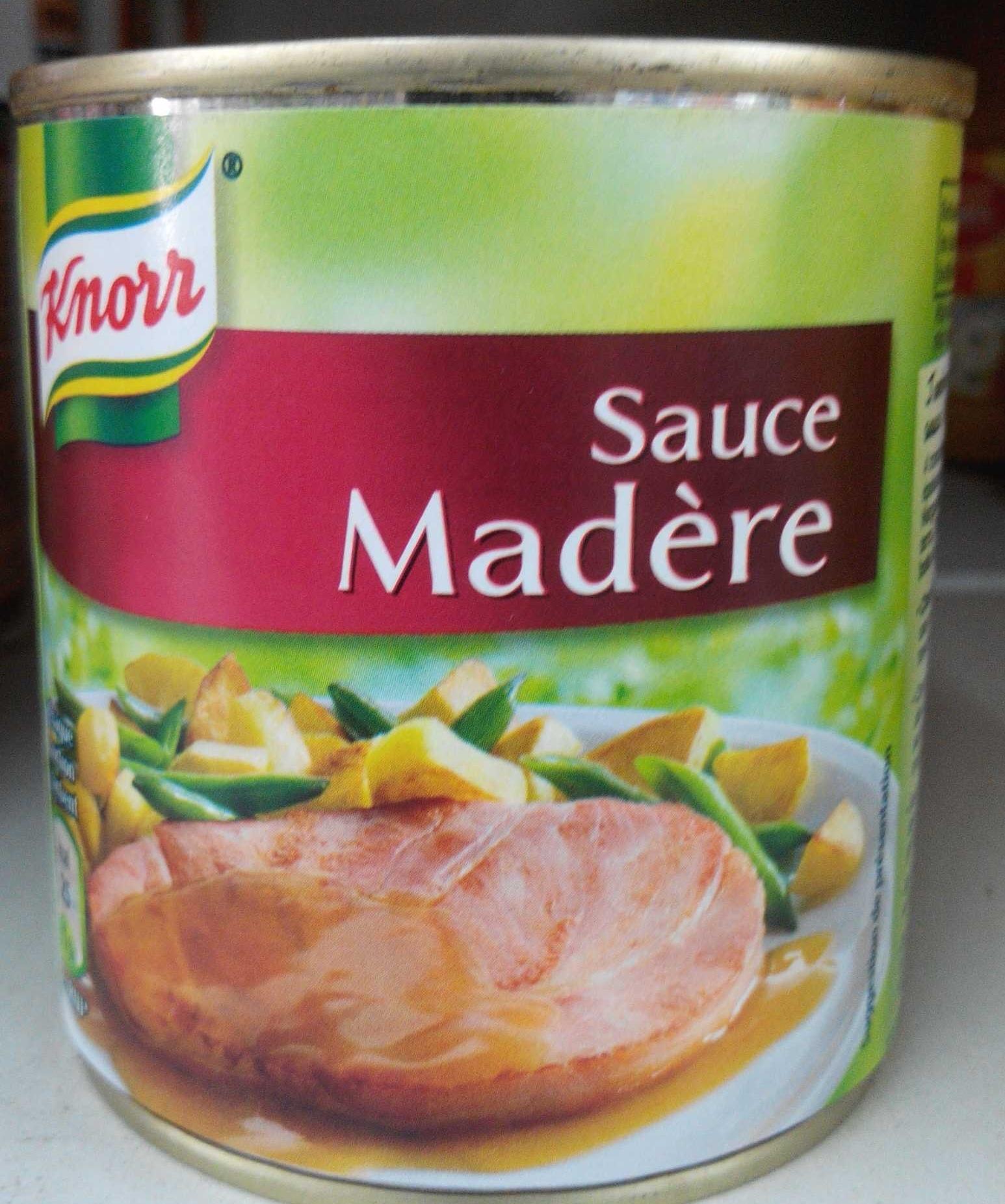 Sauce Madère - Produit