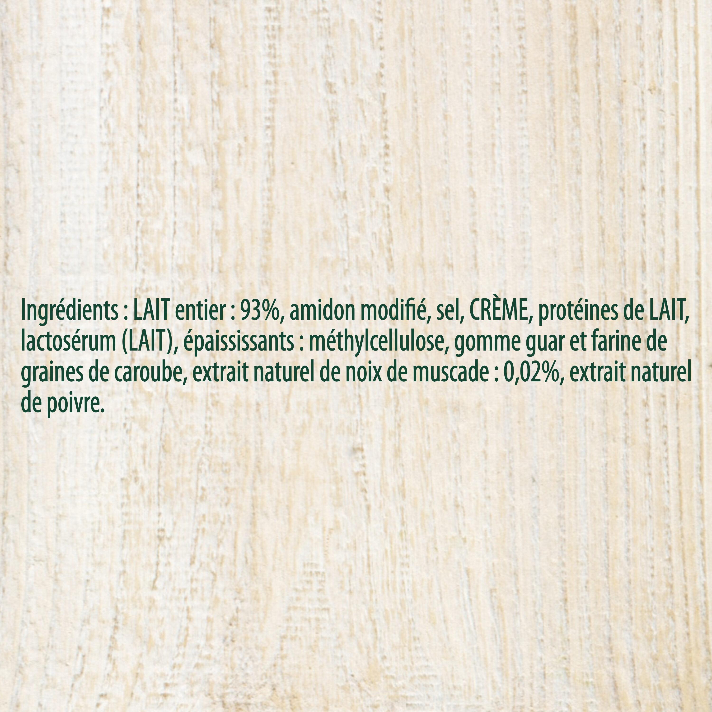 Knorr Sauce Béchamel à la Noix de Muscade Brique 50cl - Ingrédients - fr