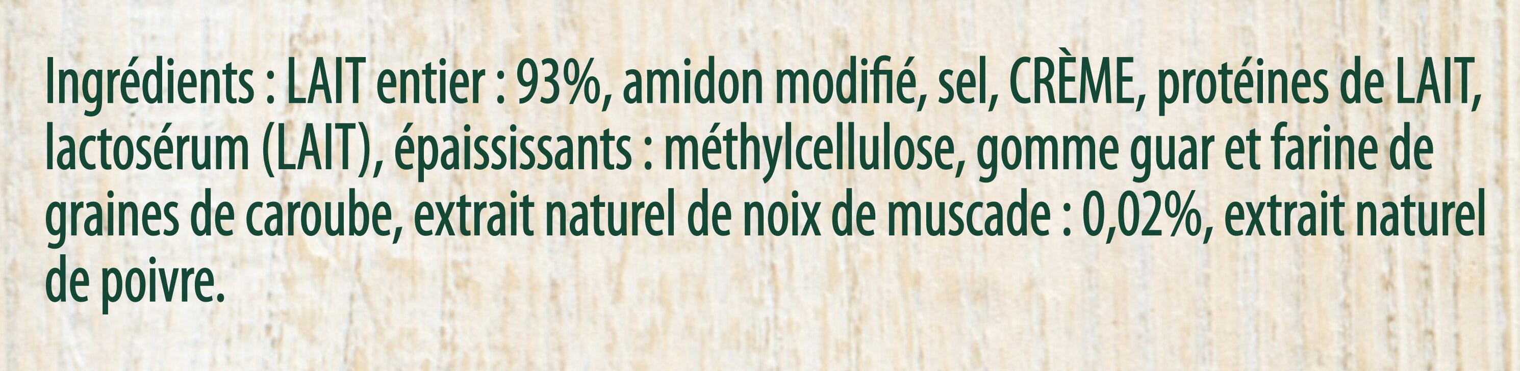 Knorr Sauce Béchamel Brique 50cl - Ingrédients - fr