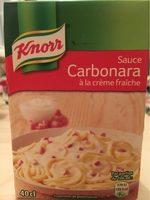 414G Sauce Pate Carbonara Knorr - Product - fr
