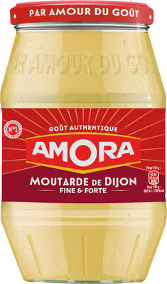 Amora Moutarde de Dijon Fine et Forte Bocal 915g - Prodotto - fr