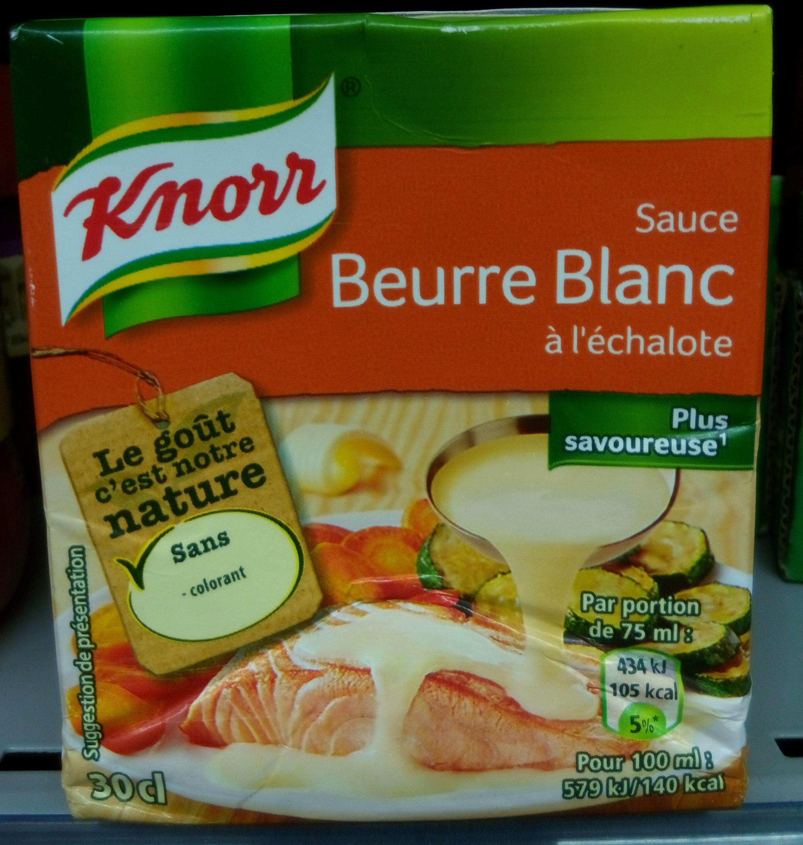 Sauce Beurre Blanc à l'échalote - Product