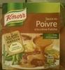 Sauce au poivre à la crème fraîche - Product