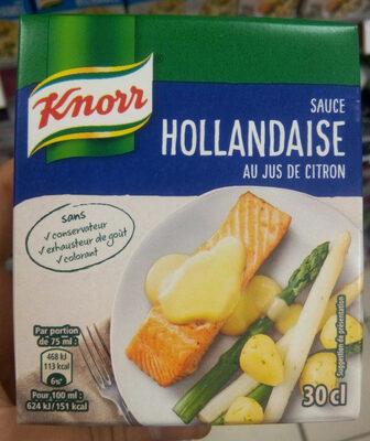 Sauce Hollandaise au Jus de Citron - Product