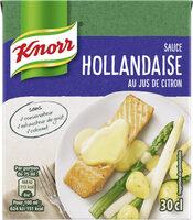 Knorr Sauce Hollandaise au Jus de Citron Brique 30cl - Prodotto - fr