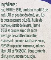 Knorr Sauce Hollandaise au Jus de Citron Brique 30cl - Ingredienti - fr