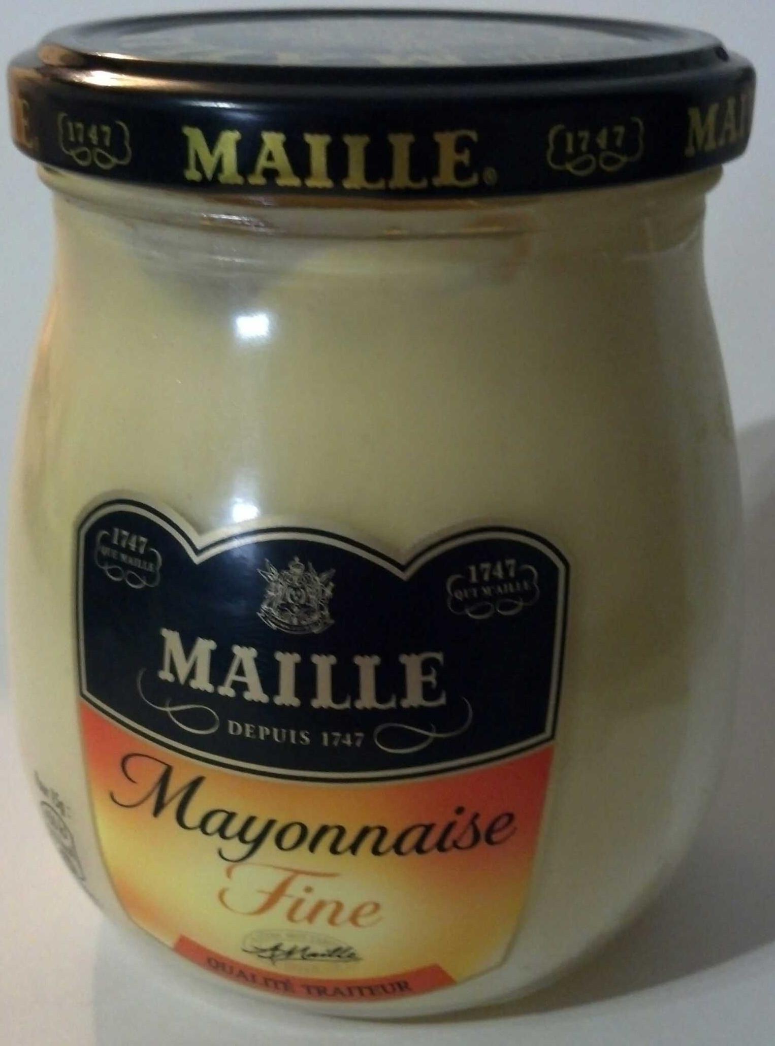 Mayonnaise fine qualité traiteur 100g - Product