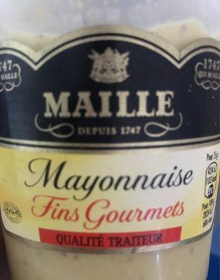 Mayonnaise fin gourmets qualité traiteur - Produit