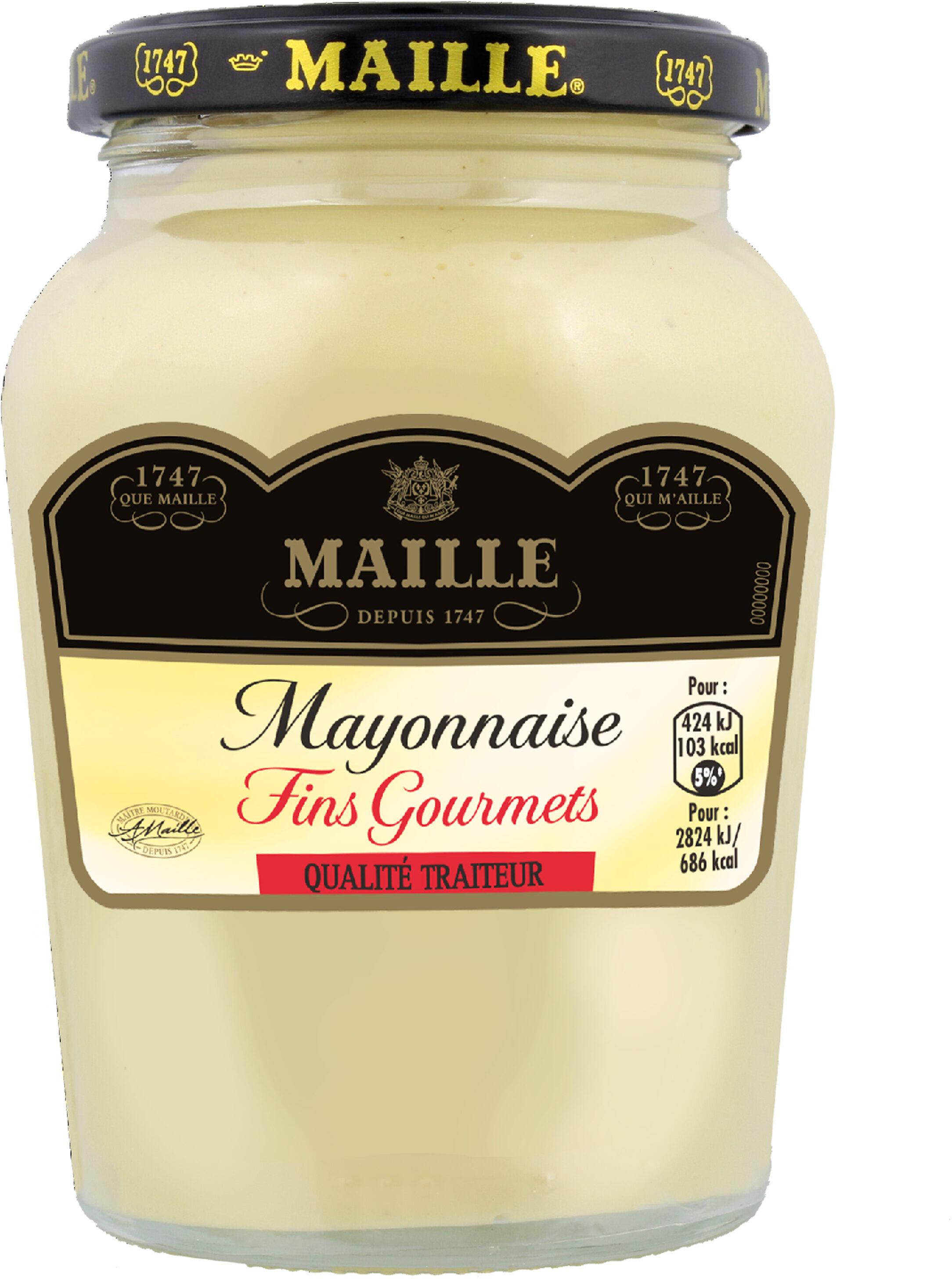 Mayonnaise Fins Gourmets - Produit - fr