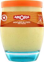 Amora Moutarde Mi-Forte Verre 230g - Produit