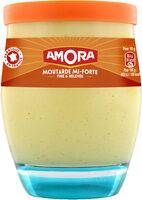 AMORA Moutarde Mi-Forte Bocal - Produit - fr