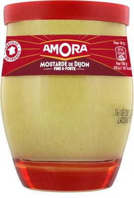 Amora Moutarde Fine et Forte Verre De Table 245g - Produit - fr