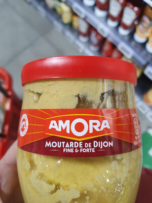 Amora Moutarde Fine et Forte Verre De Table 245g - Product