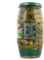 Amora Croq'Vert Cornichons Fins aux 5 Epices et Aromates 550g - Informations nutritionnelles - fr