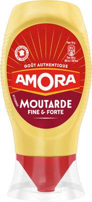 Amora Moutarde de Dijon Fine et Forte Flacon Souple 265g - Produit - fr