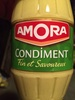Moutarde condiment Amora - Product
