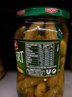 Croq'vert Aux 5 Epices & Aromates - Informations nutritionnelles
