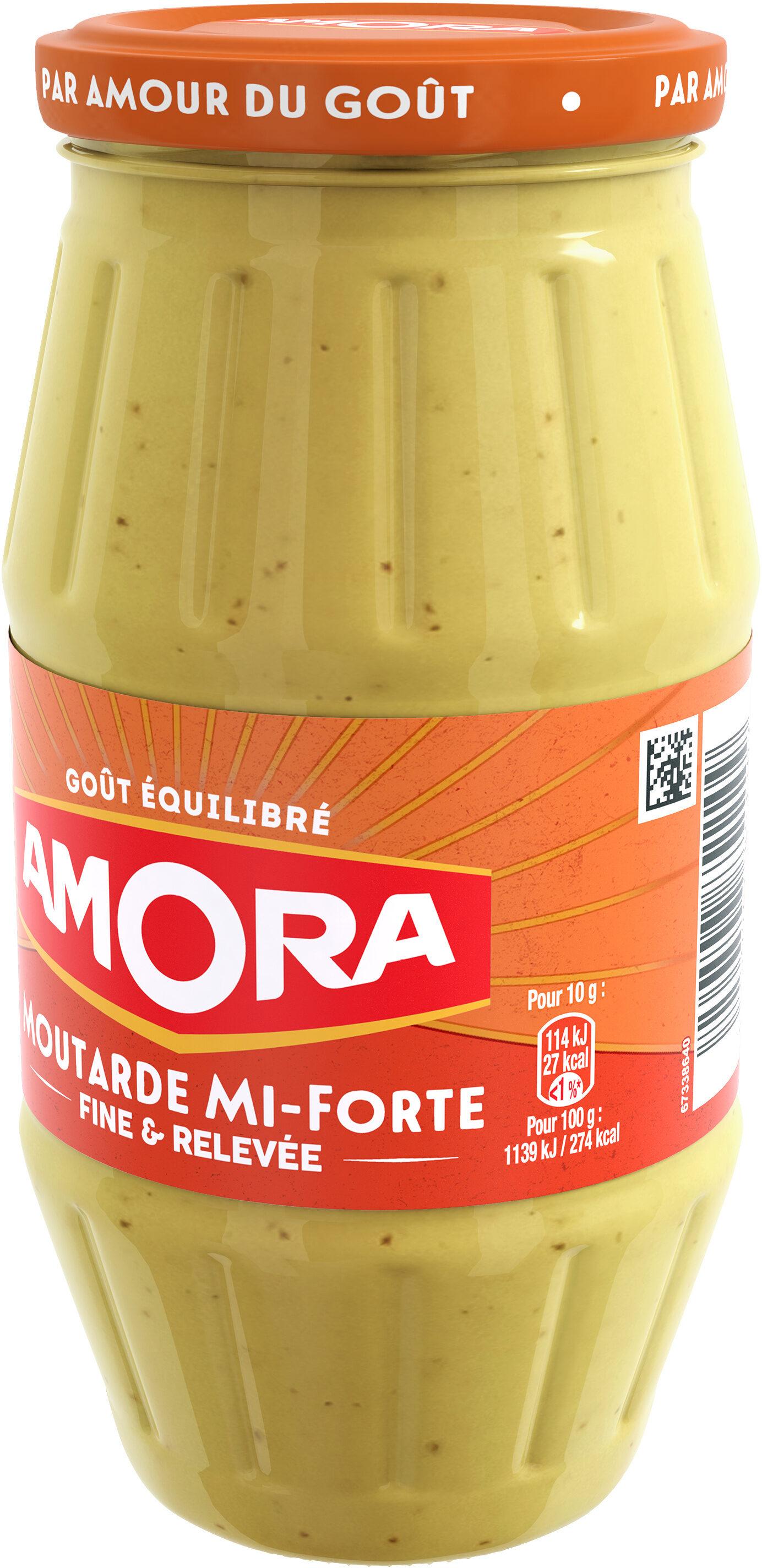 Amora Moutarde Mi-Forte Bocal - Prodotto - fr