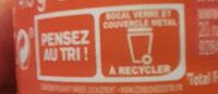 Amora Moutarde Mi-Forte Bocal - Istruzioni per il riciclaggio e/o informazioni sull'imballaggio - fr