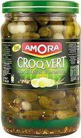 Cornichons Fins, 950 Grammes, Marque Amora - Product - fr