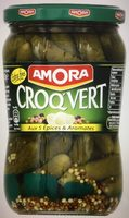 Cornichons Croq'vert - Produit