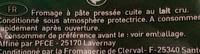 Comté Râpé - Ingrédients - fr