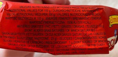 Le Royal Crémeux - Informations nutritionnelles - fr