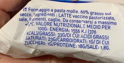 Ermitage Minibri 250G - Informations nutritionnelles - fr