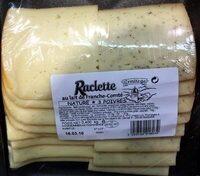 Raclette au lait de Franche-Comté Nature - 3 poivres - Produit - fr