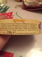 Camembert 50 % - Ingrédients - fr