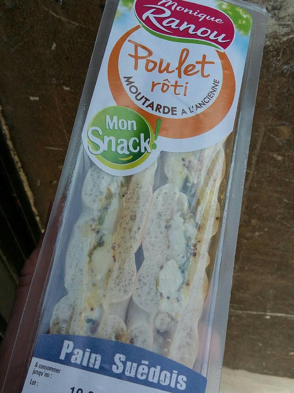 Poulet rôti Moutarde à l'ancienne - Produit - fr