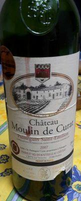 Château Moulin de Curat 2007 - Produit