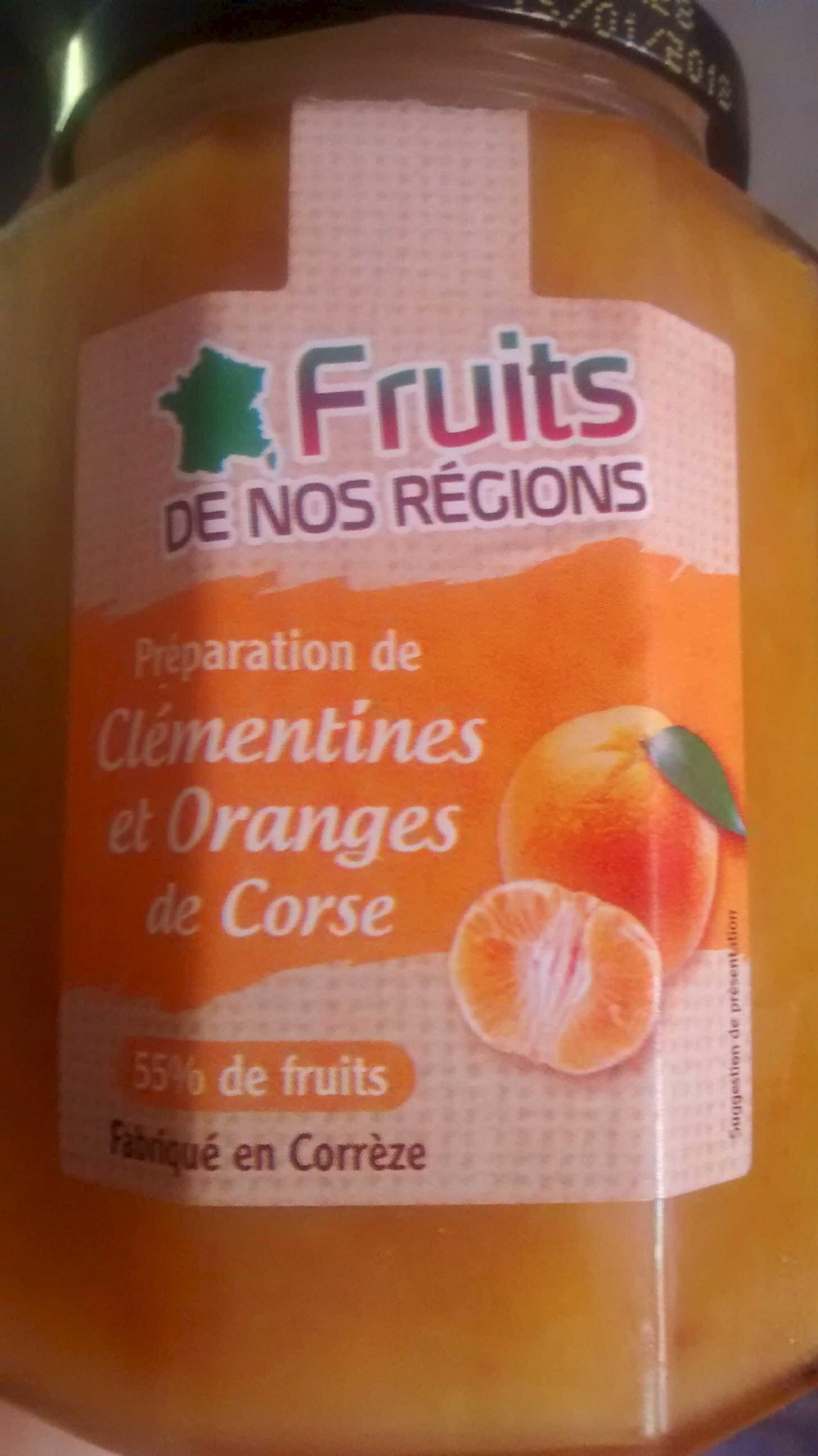 Préparation de clémentines et oranges de Corse - Product - fr