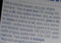 Filets de Merlu blanc meuniere - Ingredients - fr