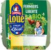 4 œufs fermiers bio - Product