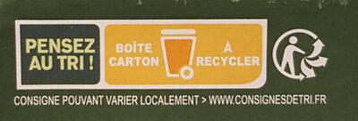 10 oeufs fermiers bio de - Istruzioni per il riciclaggio e/o informazioni sull'imballaggio - fr