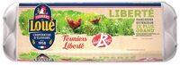 12 oeufs fermiers label rouge de - Produit - fr