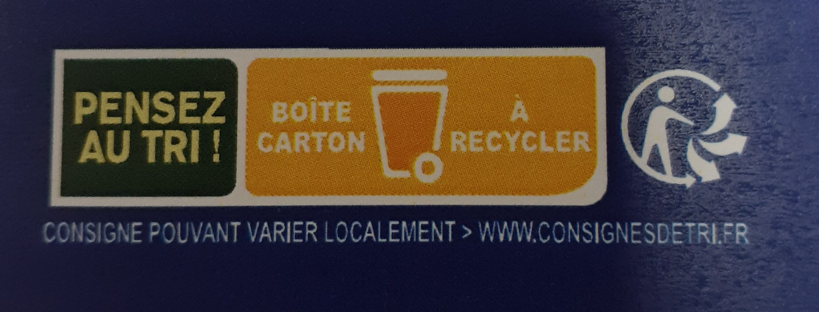 12 oeufs fermiers label rouge de - Instruction de recyclage et/ou information d'emballage - fr