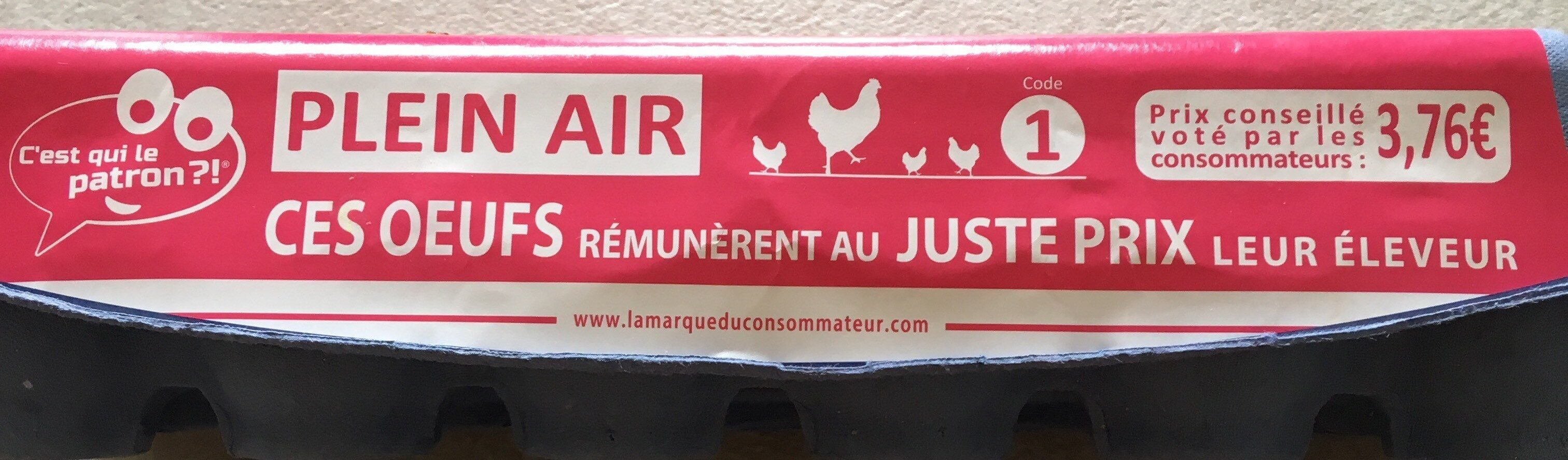 Oeufs Plein Air - Product - fr