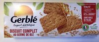 Biscuit complet au germe de blé - Produit - fr